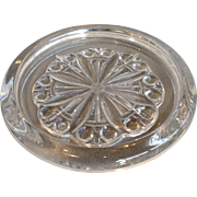 Baccarat Rosace Clear Glass Decanter Coaster