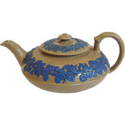 Wedgwood Early Drabware Teapot 19th C.