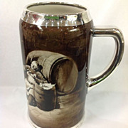Lenox Monk Tankard Silver Mounts