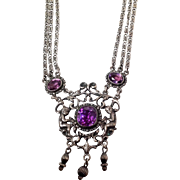 Parenti Amethyst and Sterling Necklace