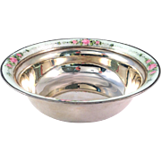 Pink Enamel Bowl Blackinton Sterling