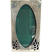 Unger Brothers Picture Frame Art Nouveau Sterling