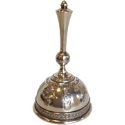 Tiffany Union Square Bell Sterling Circa 1870's