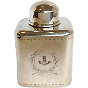 JE Caldwell Philadelphia Georgian Style Tea Caddy Sterling