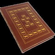 'Born Free' By Joy Adamson Leather Bound Book Easton Press