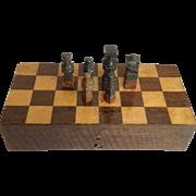Soapstone Chess Set Boxed
