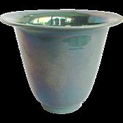 Cowan Pottery Vase Iridescent Green