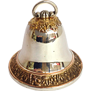 Buccellati Bell Christmas Ornament Sterling