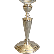Hepplewhite Candlestick Sterling Single