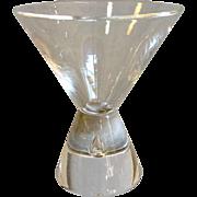Steuben Crystal 7826 Cocktail Glass Teardrop Stem