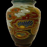 Gouda Dutch Pottery Vase