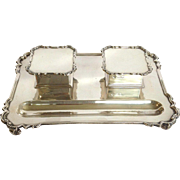 Double Inkwell Sterling English