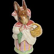 Beatrix Potter's Mrs Rabbit Figurine
