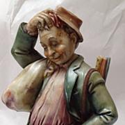 Borsato Traveler Porcelain Statue