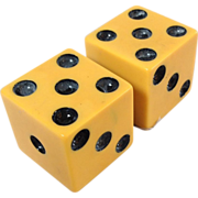 Pair of Bakelite Dice