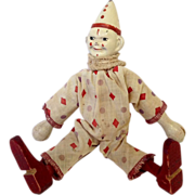 Circus Clown Doll By Schoenhut