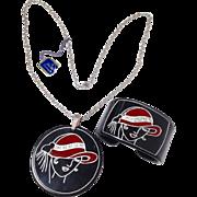 Hattie Carnegie Necklace And Bracelet Set