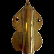 1800's Brass Spill Holder