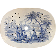 William Penn Treaty With Indians Staffordshire Drainer