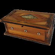 Napoleonic Straw Work Book Box