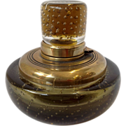 Glass Inkwell Controlled Bubble