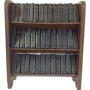 Set of 40 Shakespeare Mini Books with Shelf