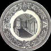 "US Naval Academy Plate ""Rotunda of Bancroft Hall"" Circa 1932"