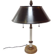 Classical Lamp With Tole Shade