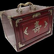 Vintage Mah Jongg Set Complete
