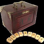 Antique Mah Jongg Set 8 Jokers