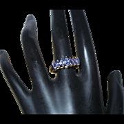 Vintage Tanzanite 14KYG Ring