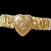SALE Vintage Signed Foster Sweetheart Bracelet