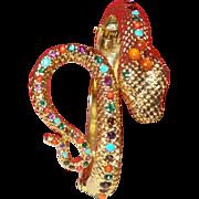 Vintage Graziano Serpent Bracelet