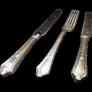 Vintage Gorham Birmingham Electro Plate Knives and Forks