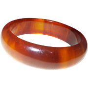 1940's Root Beer Bakelite Bangle
