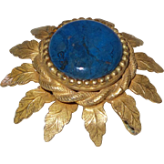Vintage Original by Robert Brooch With Faux Lapis