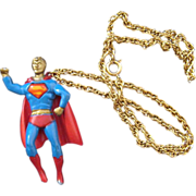 It's a Bird . . . It's a Plane . . . Superman Pendant 1978 Movie Tie-In