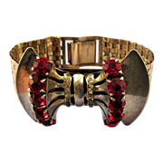 """REDUCED Unsigned Reinad """"Sceptron"""" Machine Age Design Bracelet - Book Reference"""