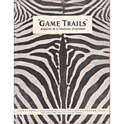"""1939 Taxidermy Advertising Catalog """"Game Trails"""""""