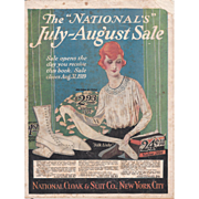 1919 Advertising Catalog National Cloak and Suit Co New York City