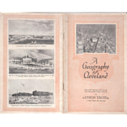 """1925 School Brochure """"A Geography of Cleveland"""""""