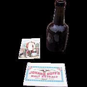 Group of 3 1890s Johann Hoff's Malt Extract Advertising Items