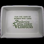 1920s Advertising Tray Frederics Vita Tonic