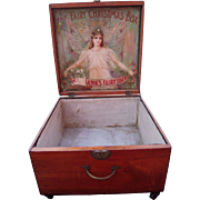 Large Victorian Era Advertising Display Box Fairbanks Fairy Soap