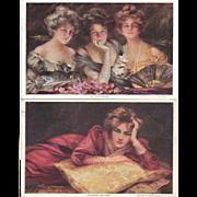 Lot of 8 Boileau Postcards #1