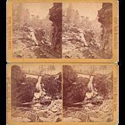 Pair 1880s Stereoviews of Colorado Scenery