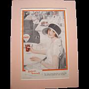 1924 Matted Coca Cola Magazine Advertisement #15