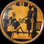 c1930 Large Ludens Candies Advertising Tin