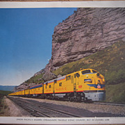 Set of 6 Large 1950s Union Pacific RR Color Photos