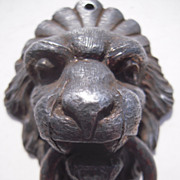 Vintage Lion's Head Drawer Pull